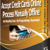 Offline Credit Cards