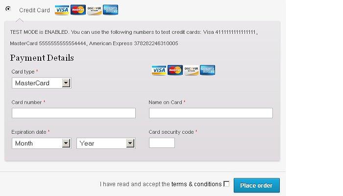 Offline Credit Card Plugin For WooCommerce Stores